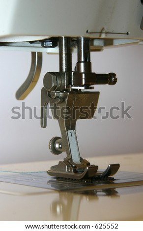 Sewing machine foot without the needle