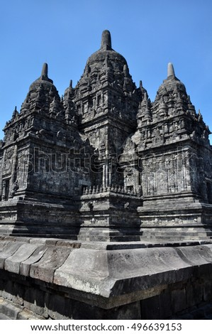 Sewu Temple in Central Java, Indonesia