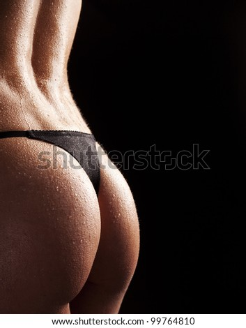 Sexual bodies, bottom - stock photo