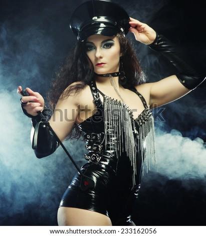 woman Dark fetish