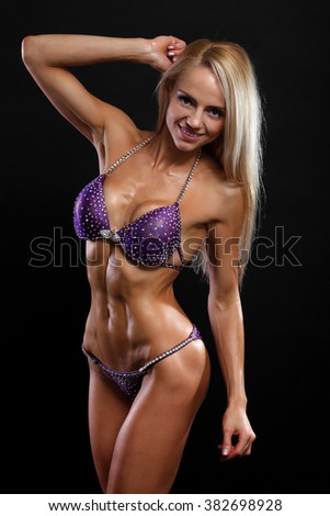 Until was Sexy body builder woman picture described the