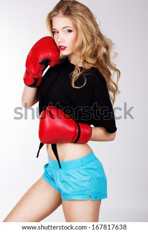 nude women boxing videos