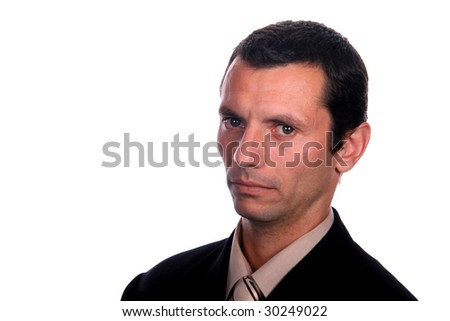 sexy businessman, business and financial photo