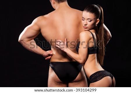 Sexy girls touching