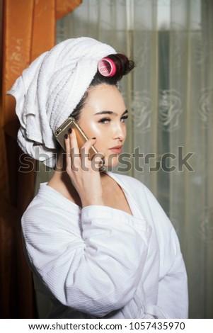 shower head girl sexy