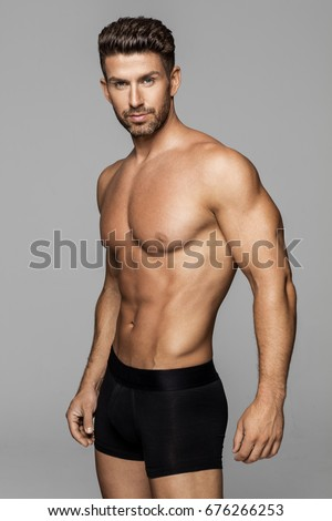 Sexiest man underwear model