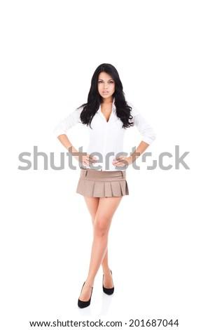 Blonde milf panties upskirt
