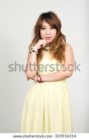 Sexy Thai woman - stock photo