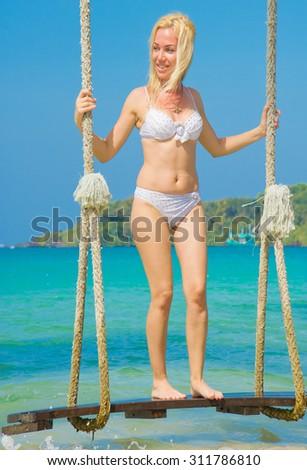 Sexy Thing Summer Fun  - stock photo