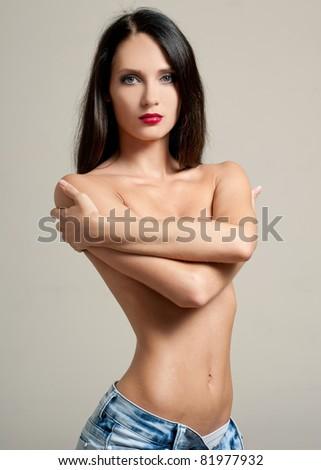 sexy woman - stock photo