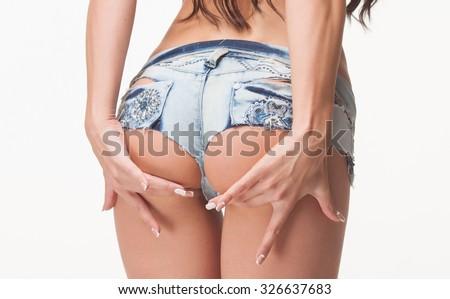 sexy-jean-shorts-ass