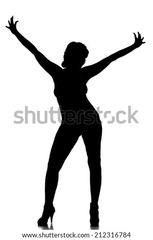 sexy woman girl lady body shadow figure model silhouette black love dancing happy
