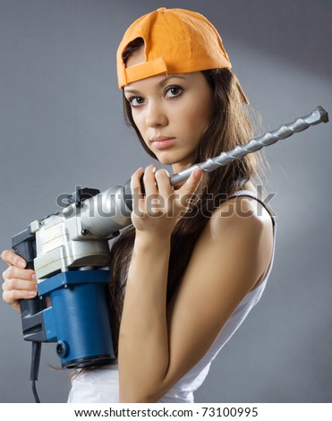 sexy construction girls zagorodnaya s quot girl construction worker quot set on shutterstock 5615