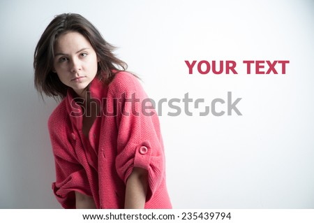 sexy young women - stock photo