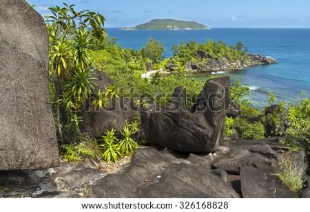 Seychelles - stock photo
