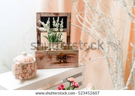 shabby chic plant shelves shabby chic interior stock images royalty free images vectors