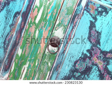 Shabby chic furniture - stock photo
