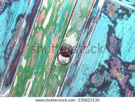 Shabby chic furniture - stock photo