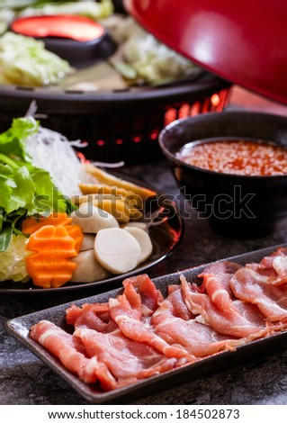 Shabu shabu,Asian cuisine