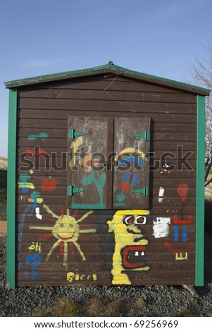 Shack - stock photo