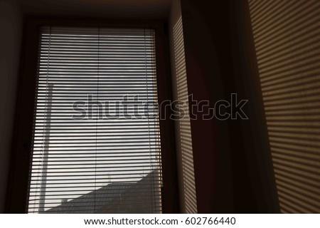 venetian blinds stock images royalty free images vectors shutterstock. Black Bedroom Furniture Sets. Home Design Ideas