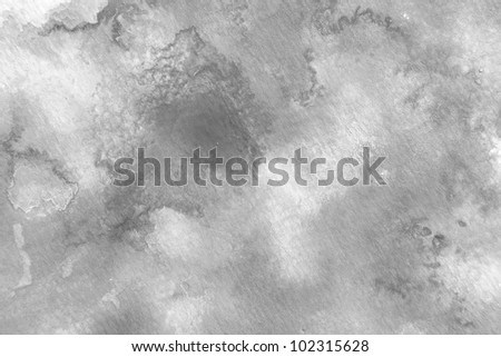 Shades of Grey Watercolor 1 - stock photo