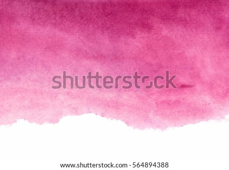 shades of red and pink watercolor