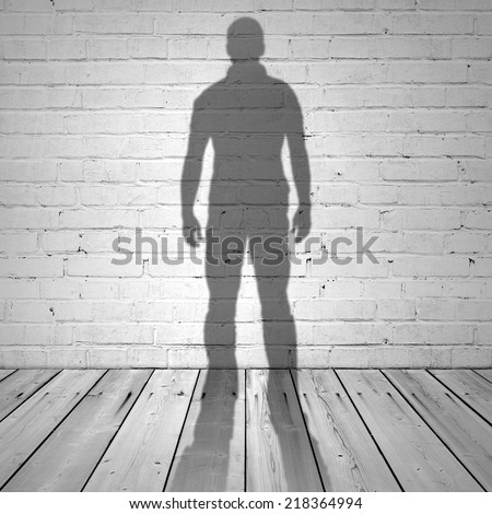 how to draw a shadow figure