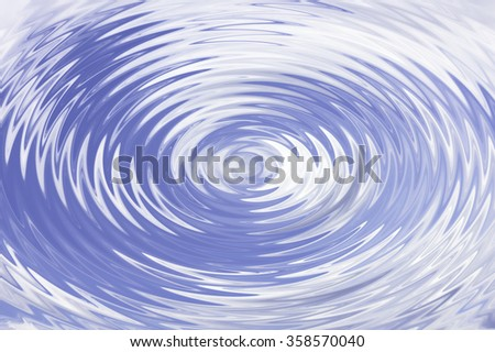 Shadows in water Sky with sunny reflections - stock photo
