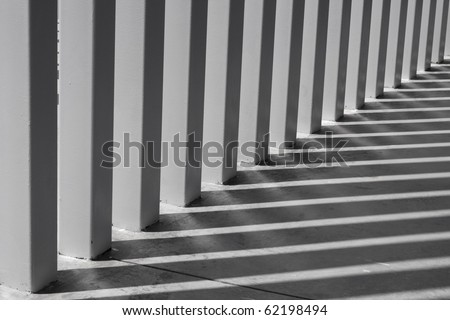Modern Columns modern pillar stock images, royalty-free images & vectors