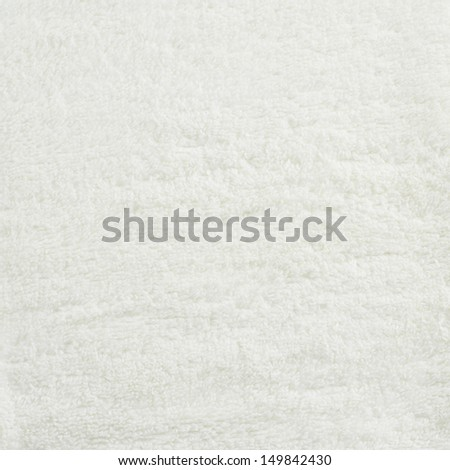 Shaggy white carpet fragment as a texture background - stock photo