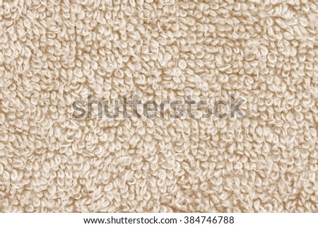shaggy wool cloth background - stock photo