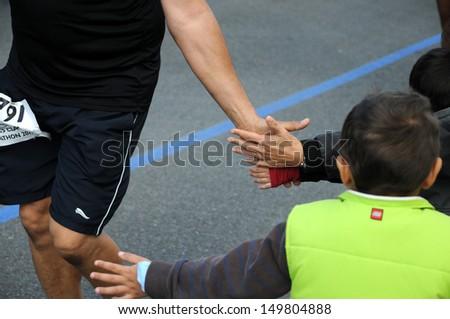 Shaking Hands - stock photo