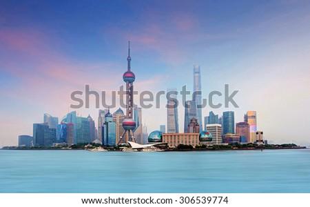 Shanghai, China - stock photo
