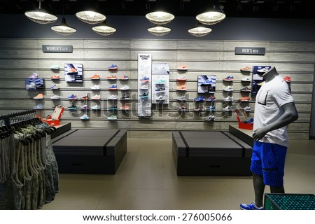 2015;Nike lifestyle concept store.Nike is