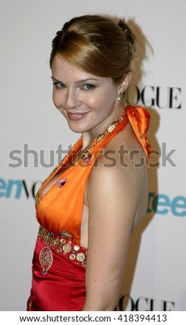 "Shannon Lucio at the Teen Vogue Celebrates ""Young Hollywood Issue"" held at the Roosevelt Hotel in Hollywood, USA on September 20, 2005."