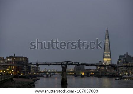 Shard tower - stock photo