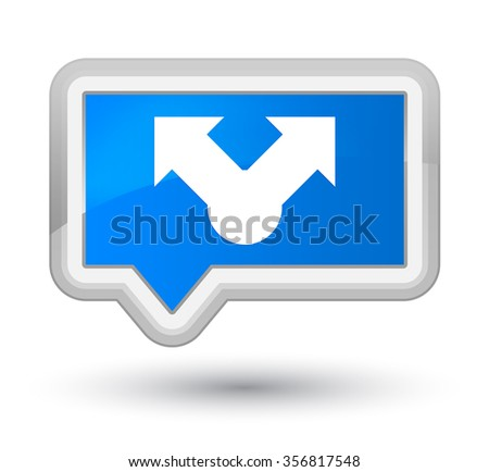 Share icon cyan blue banner button - stock photo