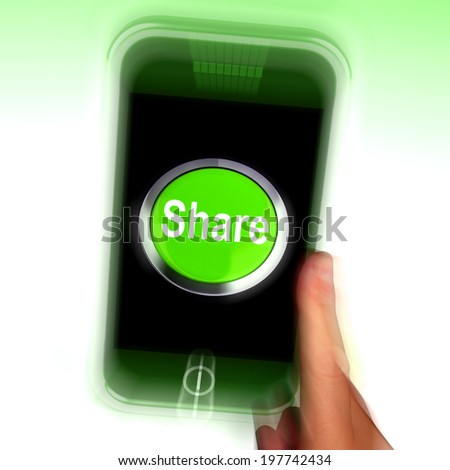 Share Mobile Meaning Online Sharing And Community