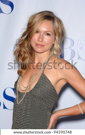 "Shark star Sarah Carter at the CBS Summer Press Tour ""Stars Party 2007"" on the Wadsworth Theatre Great Lawn. July 20, 2007  Los Angeles, CA Picture: Paul Smith / Featureflash"