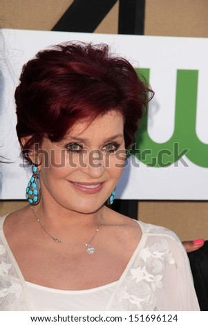 Sharon Osbourne at the CBS, Showtime, CW 2013 TCA Summer Stars Party, Beverly Hilton Hotel, Beverly Hills, CA 07-29-13 - stock photo