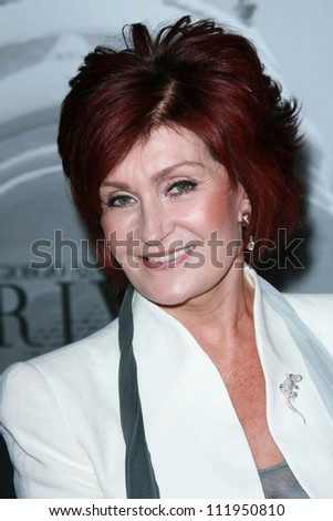 Sharon Osbourne at the Giorgio Armani Prive Show to celebrate the Oscars. Green Acres, Los Angeles, CA. 02-24-07 - stock photo