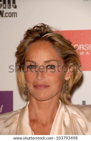 Sharon Stone at the Entertainment Weekly And Women In Film Pre-Emmy Party. Sunset Marquis Hotel, West Hollywood, CA. 09-17-09