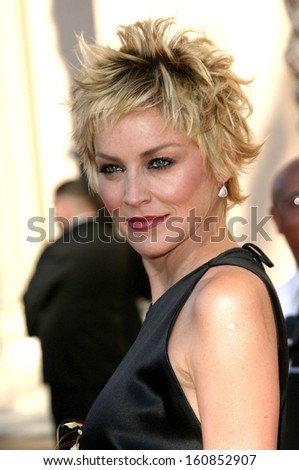 Sharon Stone at THE 56TH CREATIVE EMMY AWARDS, Shrine Auditorium, Los Angeles, CA, September 12, 2004