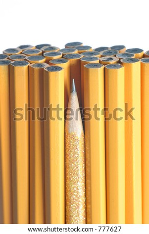 Sharpest Pencil in the Bunch:  leadership, intelligence, & individuality to teamwork and unity.