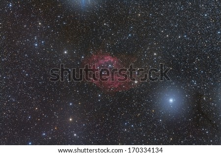 Sharpless 2-261 or Lower's Nebula in the Constellation Orion
