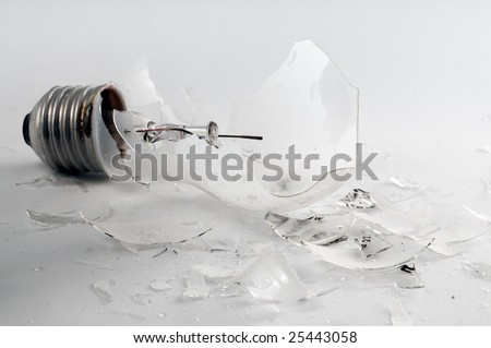 Shattered - stock photo