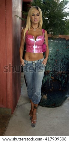 Shauna Sand Lamas at the Grand Opening of Porta Bella in Beverly Hills, USA on September 2, 2005.