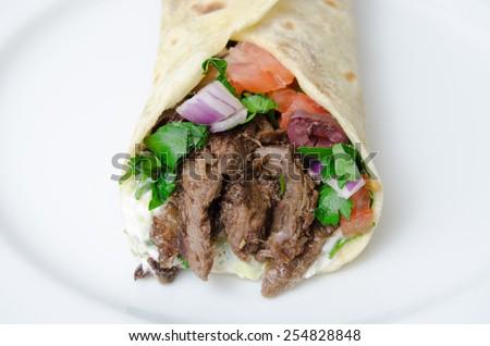 Shawarma - stock photo