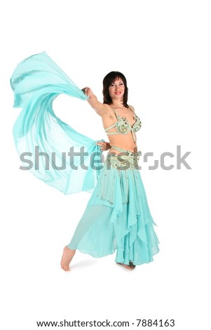 shawl dance woman
